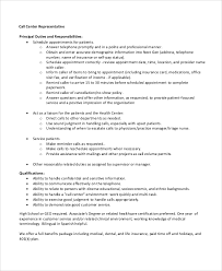 Sample Call Center Agent Resume by Sample Call Center Resume 8 Examples In Word Pdf