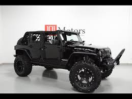 blacked out jeep 2016 jeep wrangler unlimited rubicon for sale in tempe az stock
