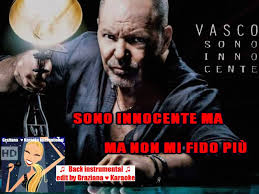 vasco sono innocente album sono innocente ma vasco karaoke back instrumental edit by