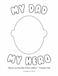 fathers day coloring page pages for kids dad birthday superhero