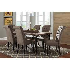 ashley dining room tables signature design by ashley leystone graphite dining table with four