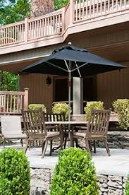 Backyard Umbrellas Greenwich Pulley Lift Umbrella Residential And Commercial Patio