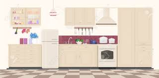 vintage kitchen furniture modern classic vintage kitchen interior with furniture and cooking