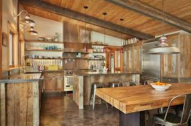 rustic kitchen ideas pictures 15 interesting rustic kitchen designs home design lover