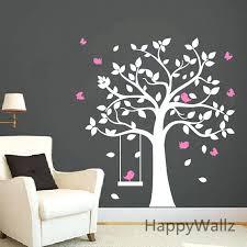 chambre bébé arbre chambre bebe arbre b b p re wall sticker swing stickers stickers