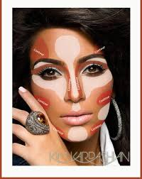 contouring like kim kardashian when you contour correctly you can give your face a diffe look using the right contouring