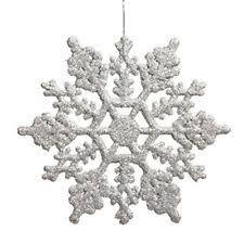 snowflake ornaments ebay