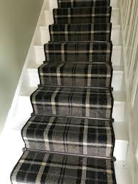 Sisal Stair Runner by Thomas Witter Midas Tartan Nylon Carpet Stair Runner Stairs
