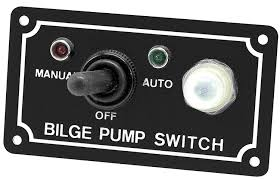 shoreline marine sl52268 x bilge pump 3 way switch black bilge