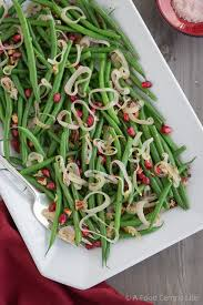 thanksgiving green beans a food centric