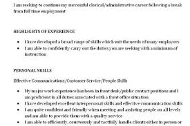 Skill Based Resume Examples by Skills Based Resume Sample Skills Based Resume Example Database