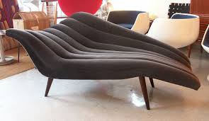 Chaises For Sale Ultra Chic Chaise Lounge Modernist Fainting Couch Fainting Couch
