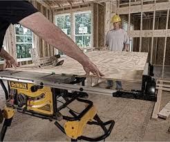 dewalt table saw rip fence extension dewalt dwe7491rs 10 inch jobsite table saw review