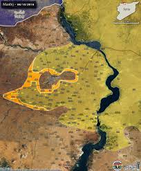 Kurdistan Map Advance Further In Northern Syria After Encircling Manbij