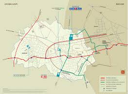 Noida Metro Route Map by Location Map Spire South Flexi Homes Sector 68 Gurgaon