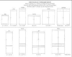 Shaker Cabinet Door Dimensions Kitchen Cabinet Door Sizes Lesmurs Info