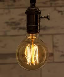 edison light bulb l edison medium globe squirrel cage vintage filament light bulb e27