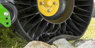 Airless Tires For Sale Car Tyre Used John Deere U0027s New Ride On Mower Is One Of The First To Have Airless