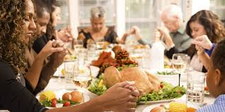 american thanksgiving dinner almost half of americans don u0027t say thanks to god or each other