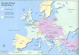 Europe Map During Ww1 Room 611 2012 02 19