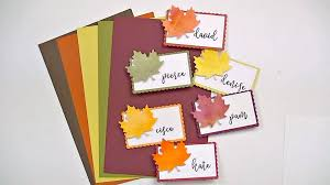 diy thanksgiving place cards this inked