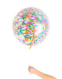 jumbo balloons sprinkles jumbo confetti balloon studio pep
