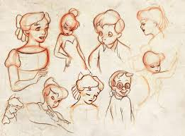 peter pan sketches winderly deviantart