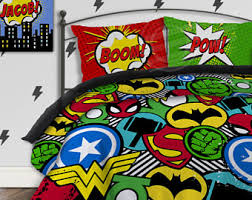 Batman Toddler Bedding Superhero Bedding Etsy