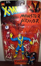 cyclops monster armor action figure x men toy biz
