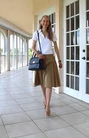 preppy for women over 50 video classic fashion over 40 50 preppy white polo shirt tan ann