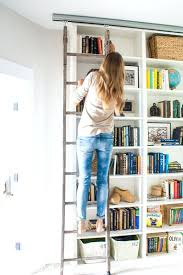 bookcase built in bookshelves with ladder step ladder bookcase