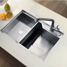 Dawn Sinks Undermount Square Single Bowl Kitchen Sink  Gauge - Square sinks kitchen