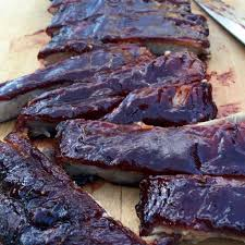 low and slow fall of the bone bbq ribs mom u0027s bistro