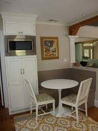 kitchen banquette kitchen seating two white chair one legged