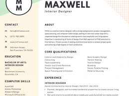 Online Resume Making by Creative Design Designer Resume 4 Free Online Resume Maker
