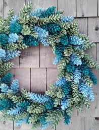 pinecone wreath winter pinecone wreath the happy housie