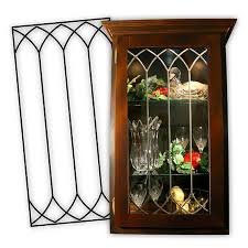 faux stained glass kitchen cabinets cabinet glass inserts leaded glass panels for kitchen cabinets