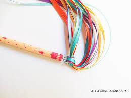 ribbon wands how to make a ribbon wand jennie moraitis
