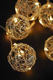 Light Up Topiary Balls - decorative balls moss balls