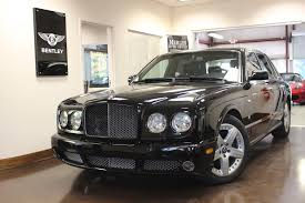 used 2007 bentley arnage black t v8 mulliner leather navigation
