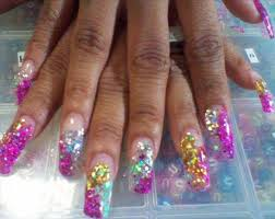 21 beautiful and appealing samples of acrylic nail designs all