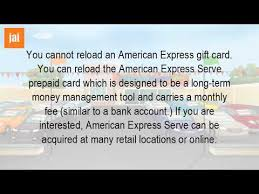 reload prepaid card with checking account can you add money to a prepaid american express gift card