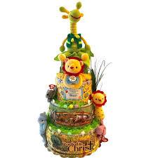 baby boy safari cake jungle animal baby shower gift