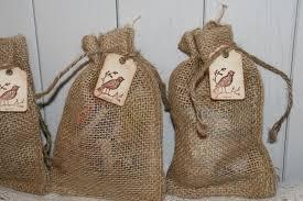 burlap gift bags burlap bags wedding favor bags with tag burlap wedding