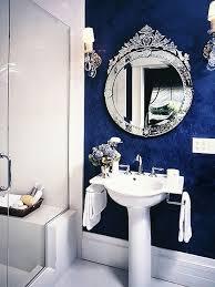Best Elegant Royal Blue Bathroom Designs Images On Pinterest - Blue bathroom design ideas