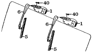 page 192 land cruiser windshield wipers