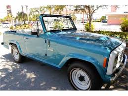 jeep jeepster interior 1973 jeep jeepster commando for sale classiccars com cc 758417