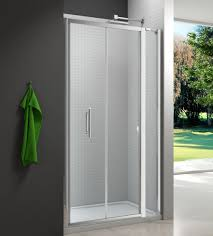 merlyn 6 series bifold shower door and inline panel