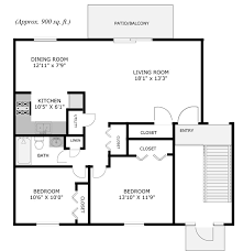 2 bedroom cottage floor plans two bedroom house simple floor plans house decorations