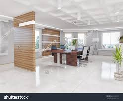 home office sleek design interior office space modern new 2017